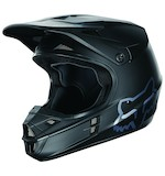 Fox Racing V1 Matte Black Helmet (Size XS Only)