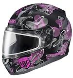 HJC Women's CL-17 Mystic Snow Helmet - Dual Lens