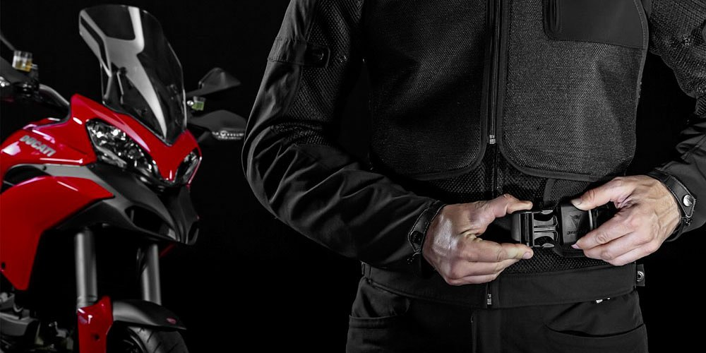 Ducati and Dainese team to make a Multistrada equipped for the D-Air System