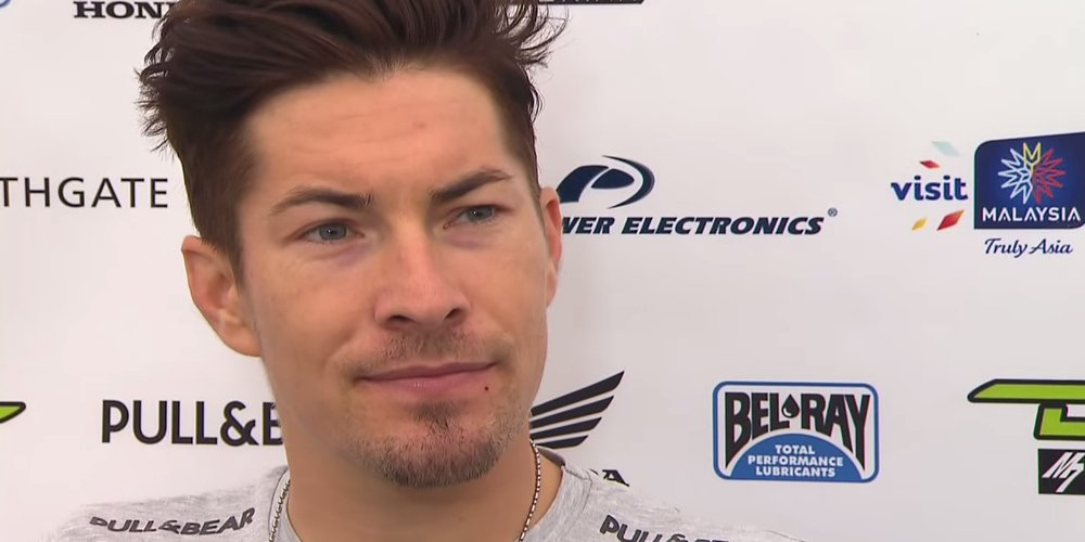 Nicky Hayden talks about his injured wrist, his underpowered Honda and why he stayed in MotoGP