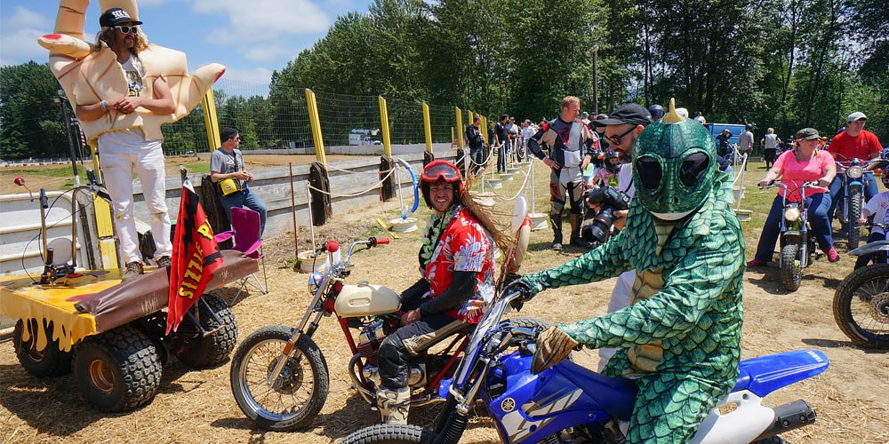 Dirt Quake USA is racing as it was never meant to be, but lots of fun, anyway