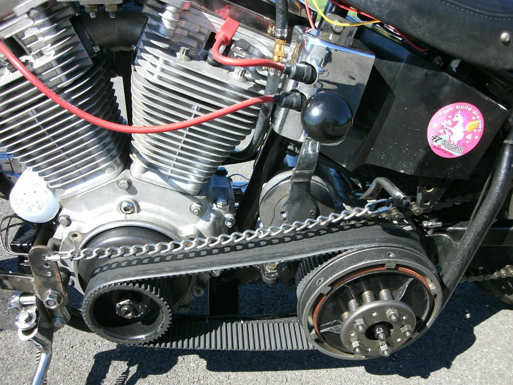 Harley Davidson  Dyna Secondary Chaine Transmission