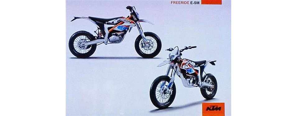 News: The 2015 KTM Freeride E-SM supermoto cometh?