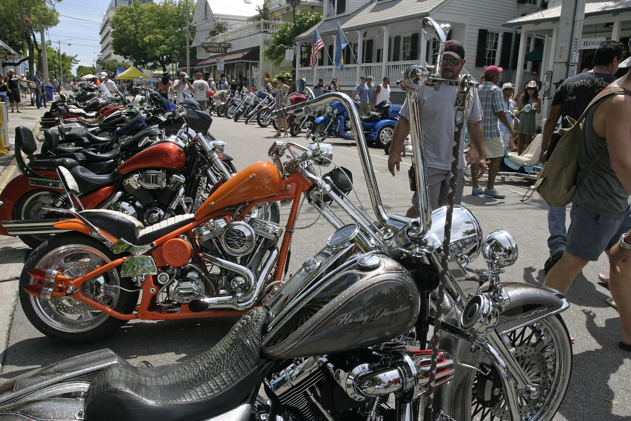 Key West bike show