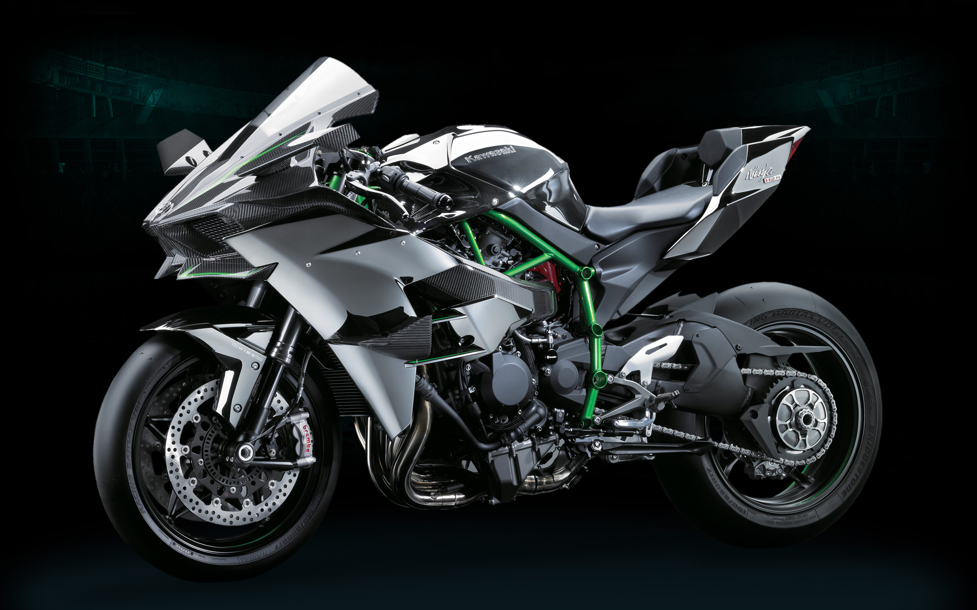 Kawasaki Ninja H2r Makes 300 Horsepower Revzilla