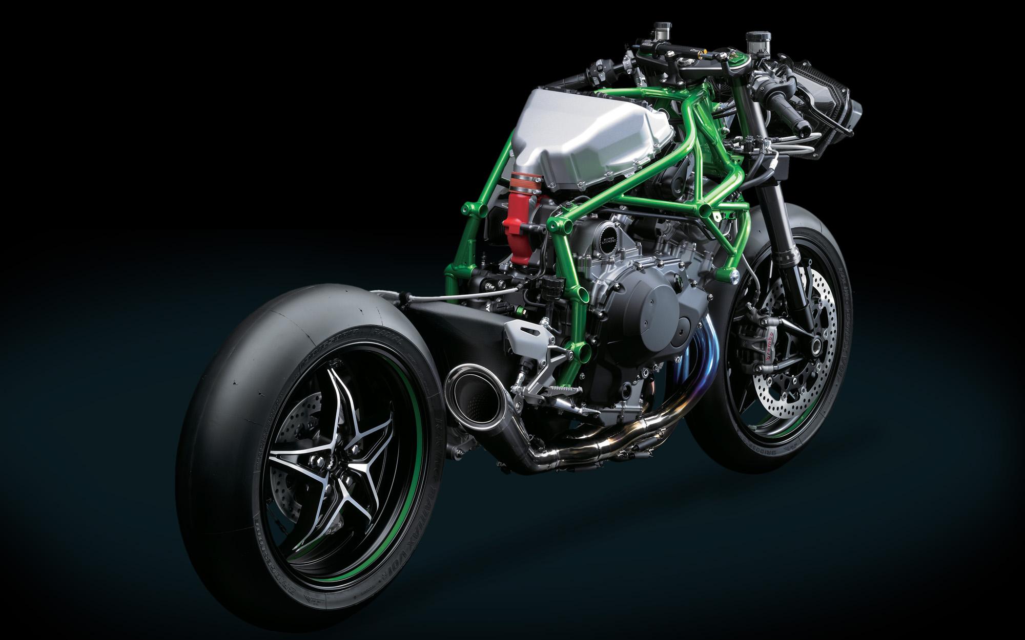 Kawasaki Ninja H2r Makes 300 Horsepower Revzilla The Fuel Filter On Hhr