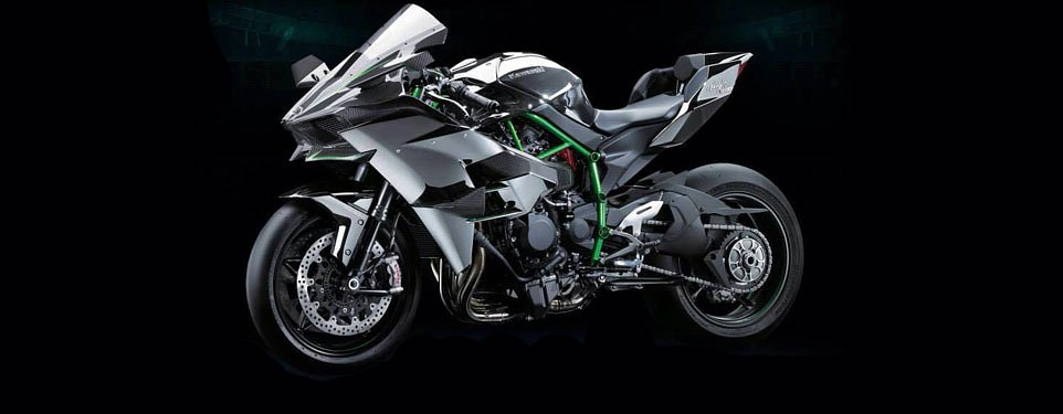 Kawasaki Ninja H2R makes 300 horsepower