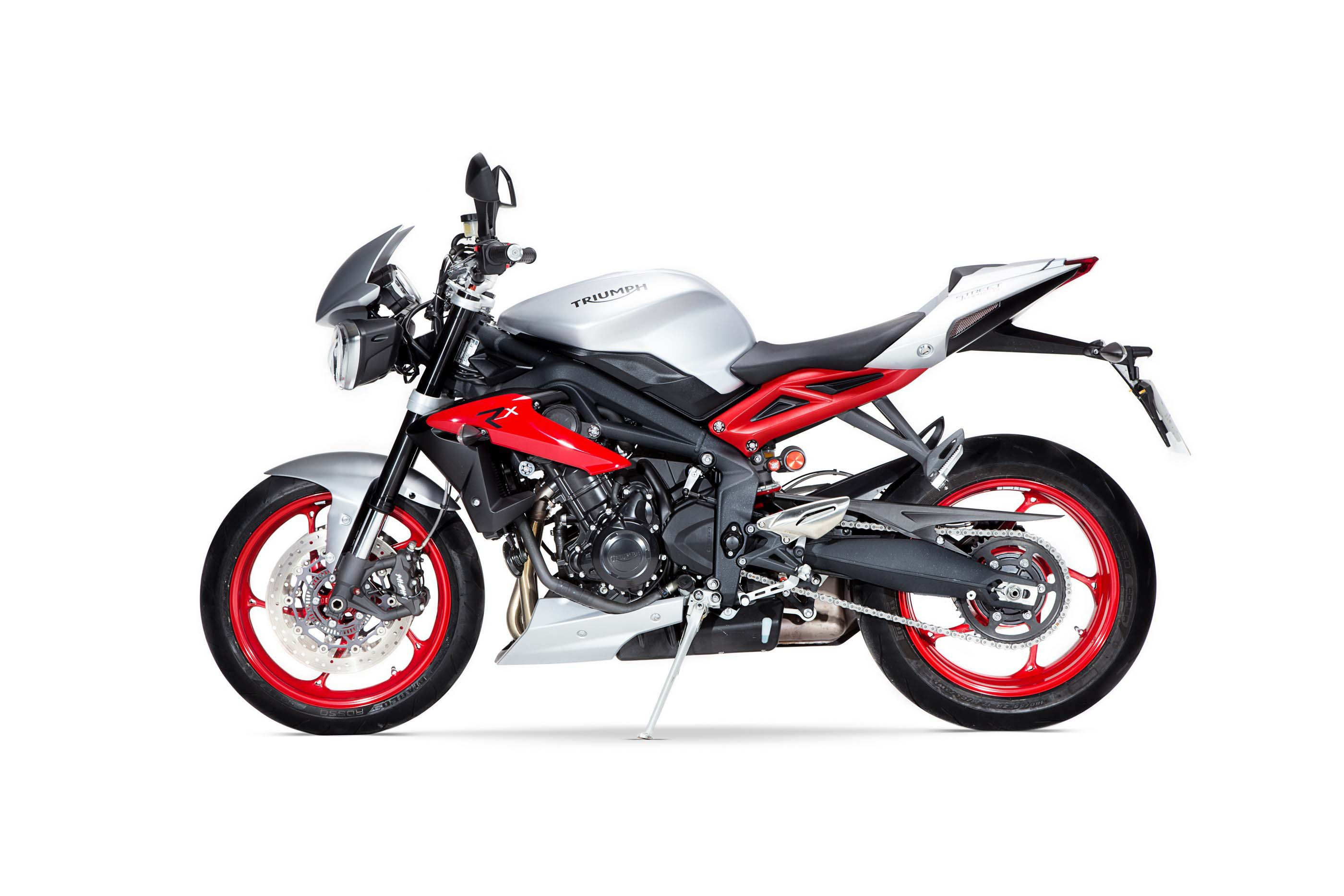 INTERMOT 2014: Triumph Street Triple RX takes cues from its Daytona sibling  - RevZilla