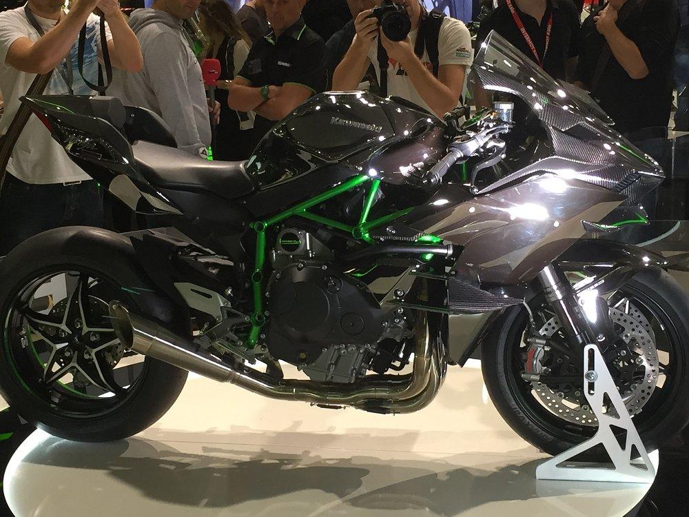 Kawasaki H2R at INTERMOT