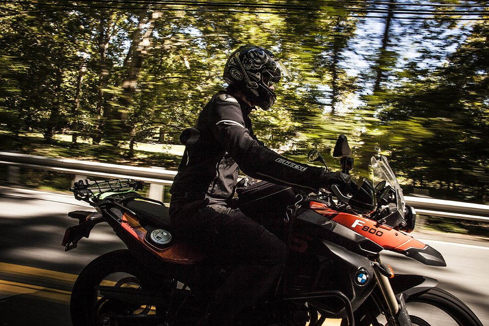 BMW F 800 GS on Route 143