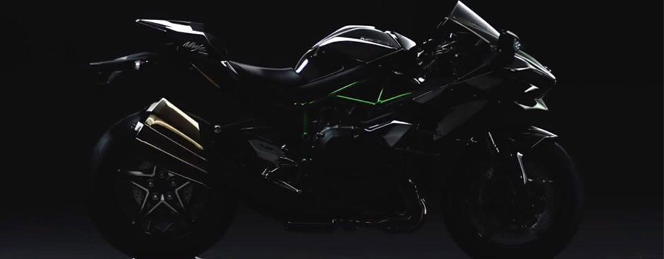 News: Kawasaki Ninja H2 Street revealed and H2R Track Video
