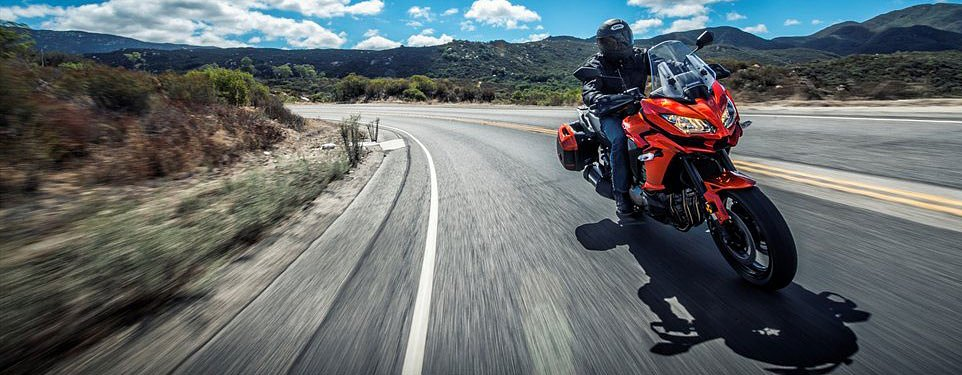 2015 Kawasaki Versys 1000 first look