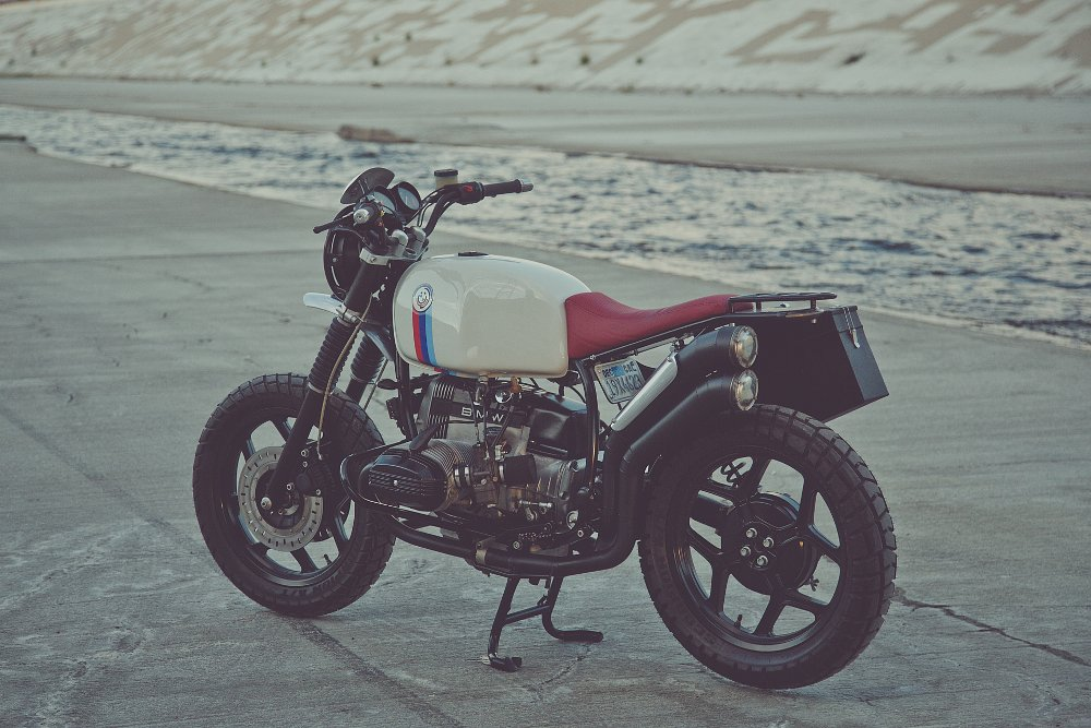 The Mighty Motor Bavarian Scrambler