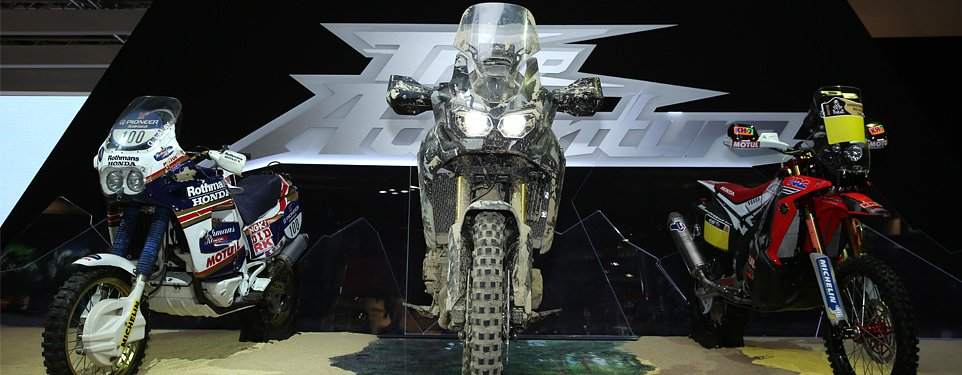 EICMA: Honda True Adventure prototype