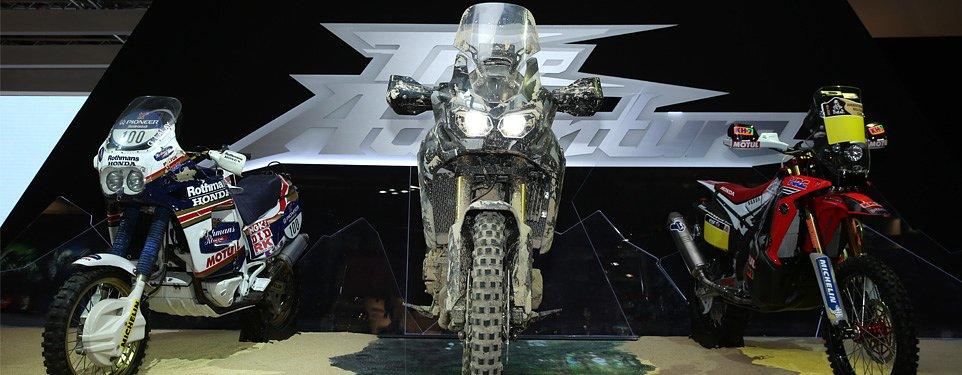 EICMA: Honda True Adventure prototype