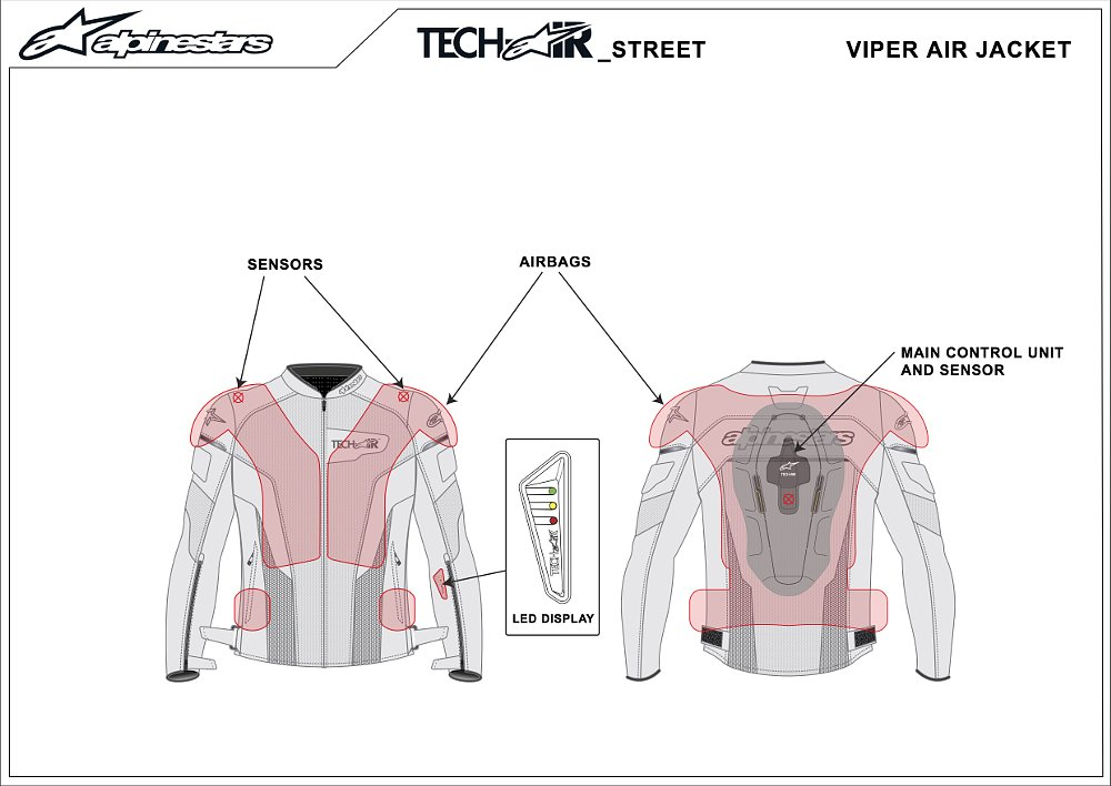 Alpinestars Tech-Air Street Airbag System