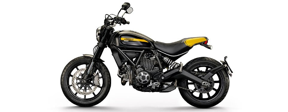 Listen to the Ducati Scrambler's exhaust