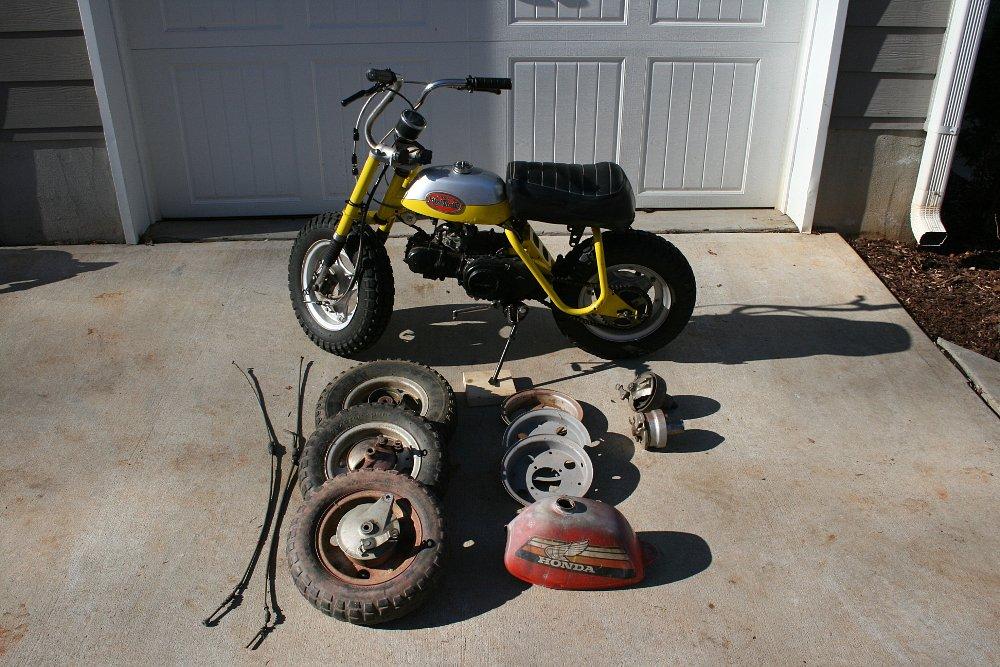 Mini Trail and spare parts