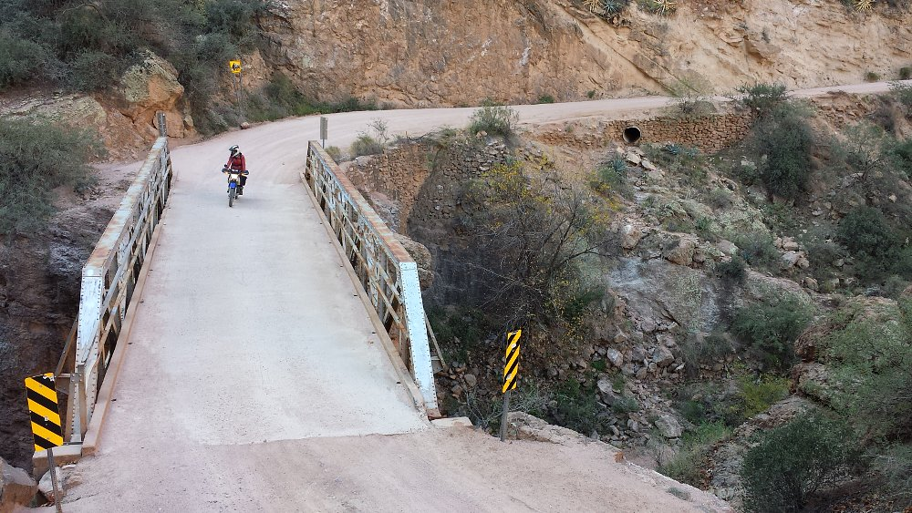 Apache Trail bridge