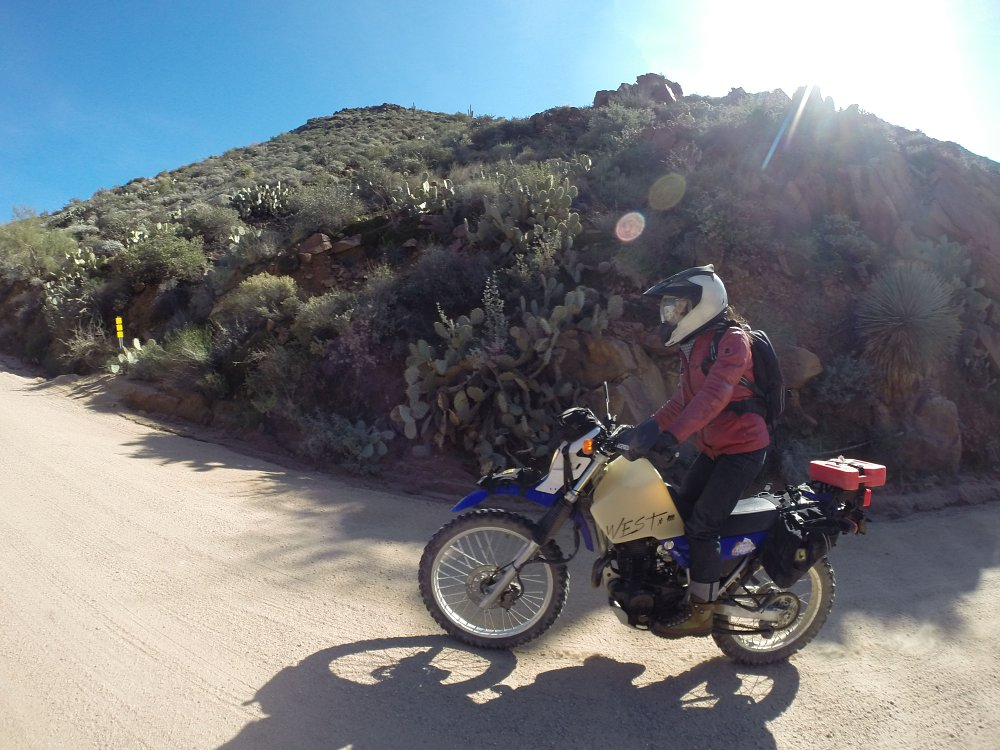 riding the Apache Trail