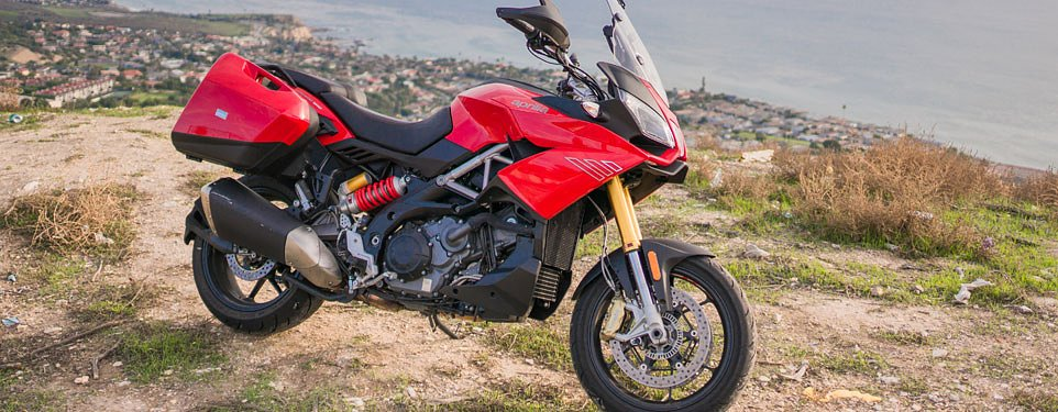 2015 Aprilia Caponord 1200 ABS review