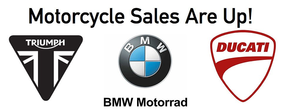 Motorcycle sales on the rise