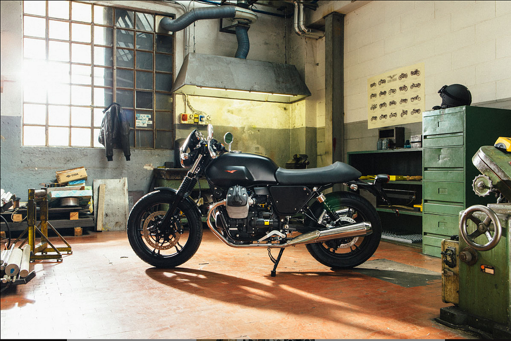 Moto Guzzi Dark Rider kit