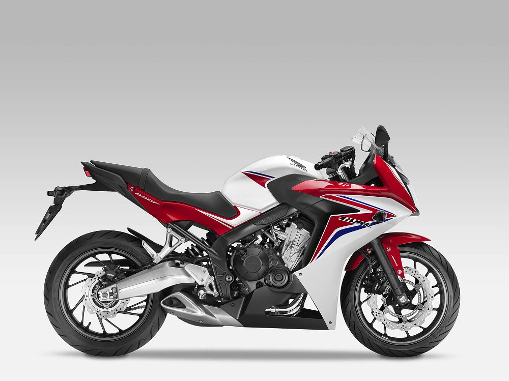 honda cbr 650f mpg player