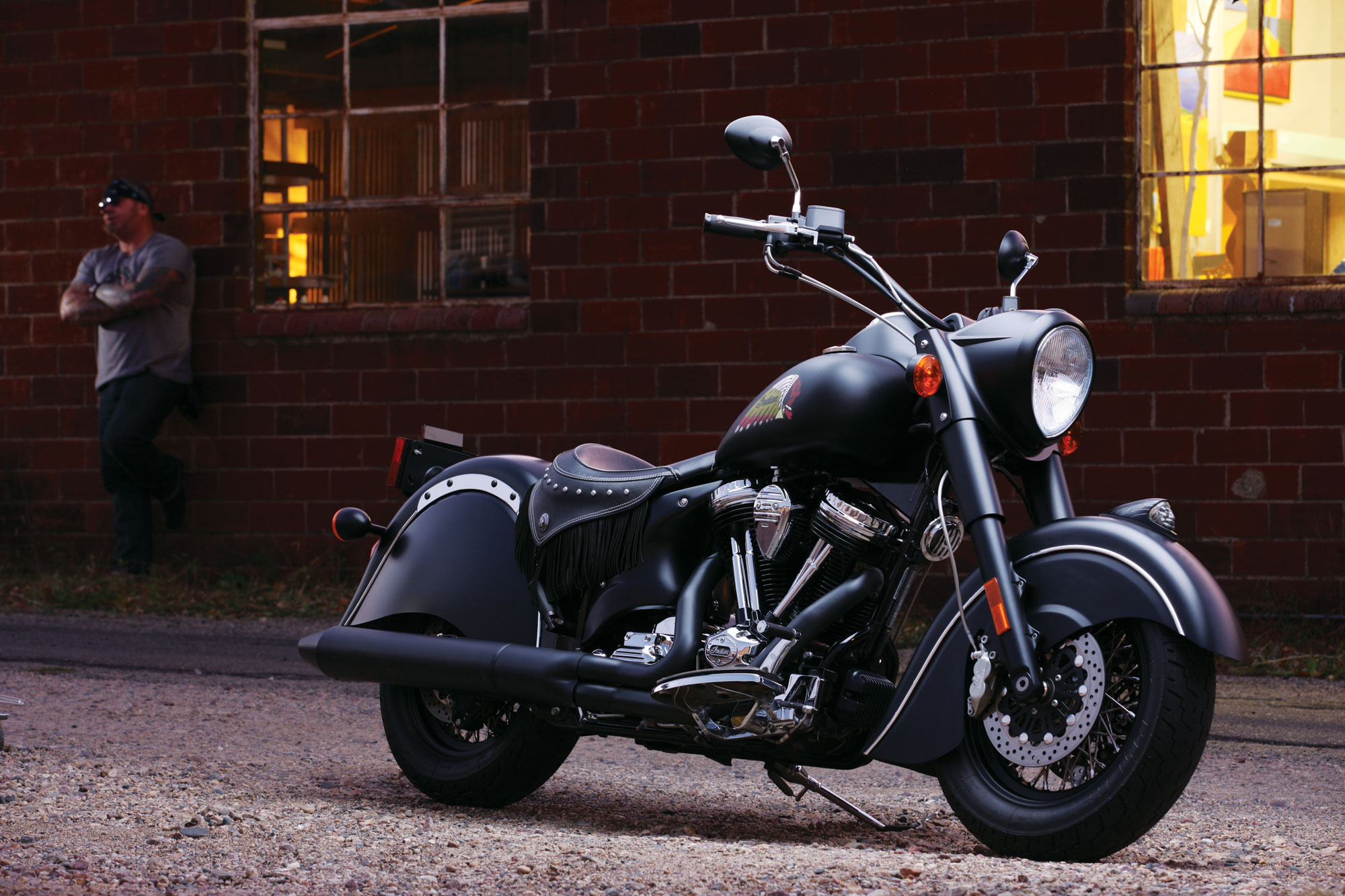 Meet indian motorcycles first model of 2016 indian chief dark - Indian Chief Dark Horse Three Things Polaris Is Doing Right Revzilla