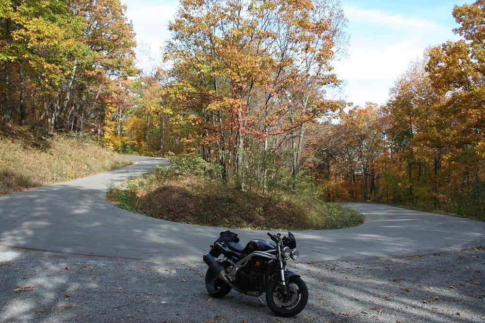 Spruce Knob road