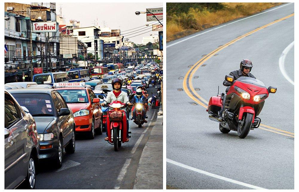 Bangkok and U.S. riders