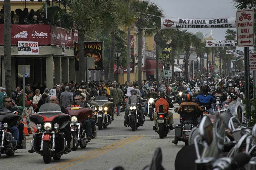 Main Street, Daytona Bike Week