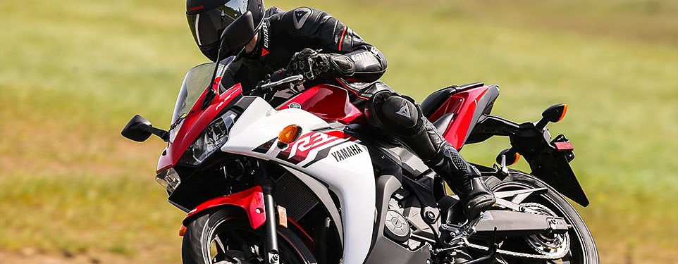 2015 Yamaha YZF-R3 first ride