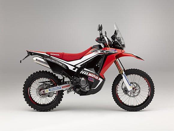 Honda CRF250 Rally Concept