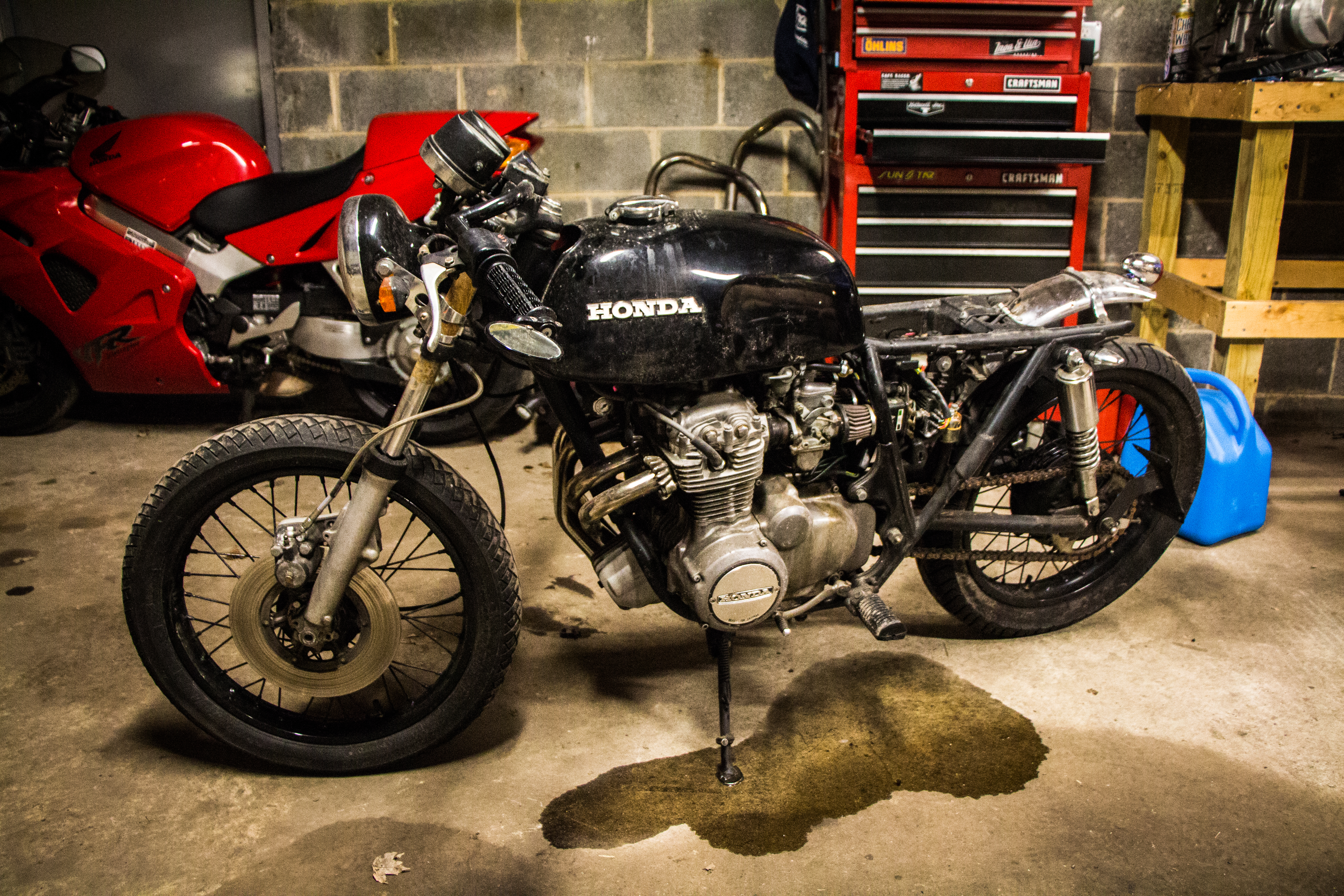 Kickstarters and beer how she got her vintage honda in my garage kickstarters and beer how she got her vintage honda in my garage revzilla thecheapjerseys Choice Image