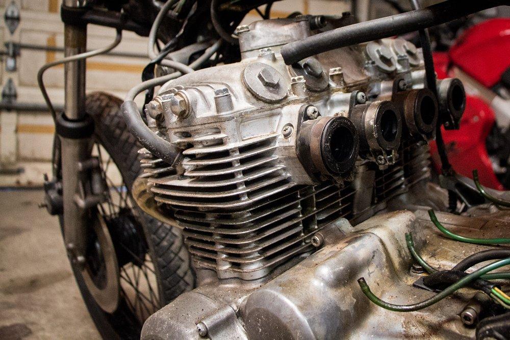 350cc four-cylinder