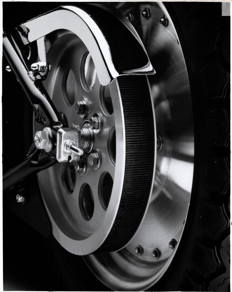 Harley-Davidson belt drive