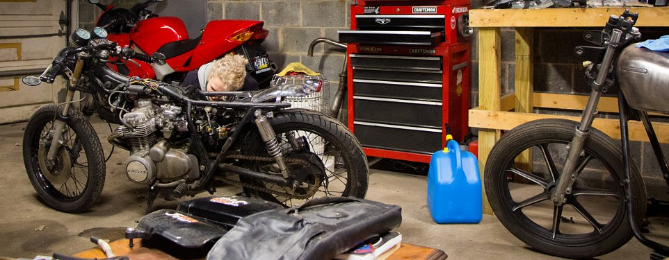 Kickstarters and beer how she got her vintage honda in my garage kickstarters and beer how she got her vintage honda in my garage thecheapjerseys Choice Image