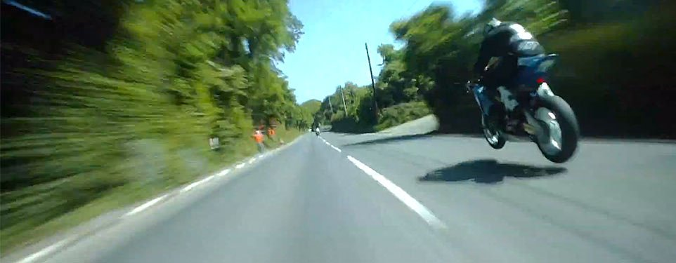 Video: Watch Guy Martin chase Michael Dunlop around the Isle of Man