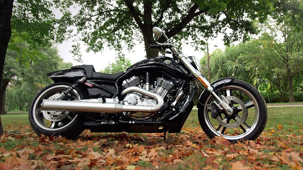 Harley Davidson V Rod Review At Revzilla Com