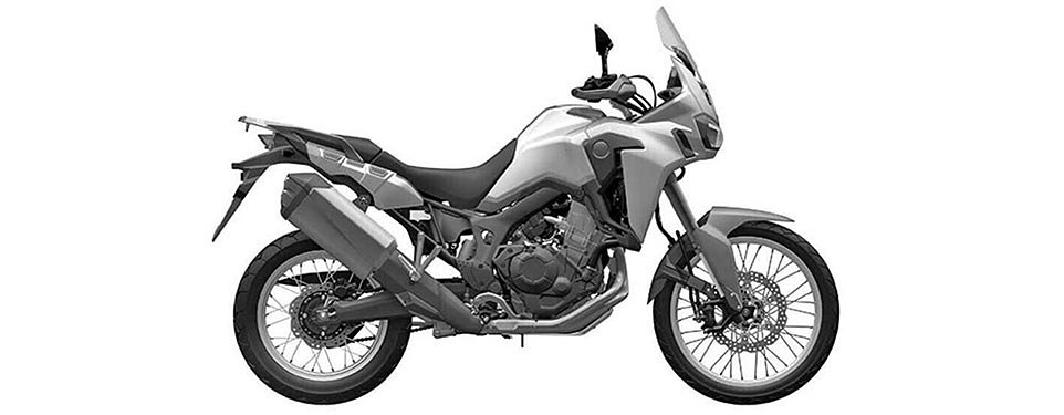 A full view of the 2016 Honda Africa Twin