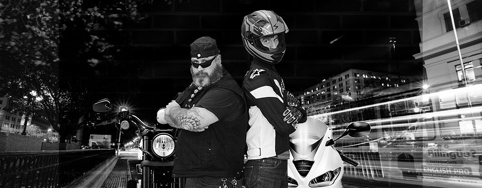The motorcycling brotherhood