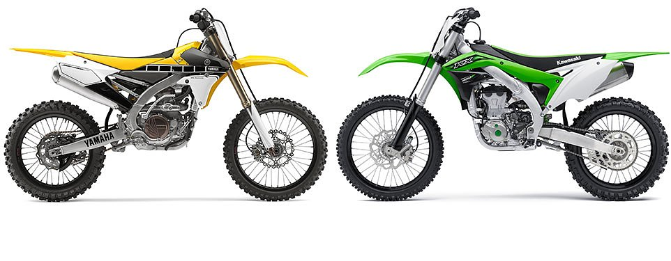 Preview: Yamaha and Kawasaki unveil new motocrossers for 2016