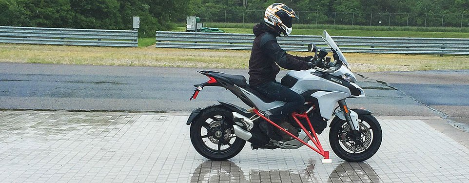 Testing Bosch's Motorcycle Stability Control