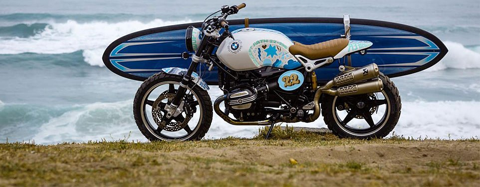 BMW Path 22 Concept most likely the upcoming BMW Scrambler