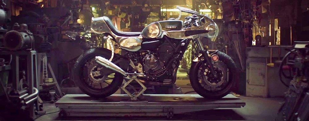 Shinya Kimura Yamaha MT-07 custom could see production