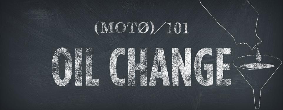 Oil change 101