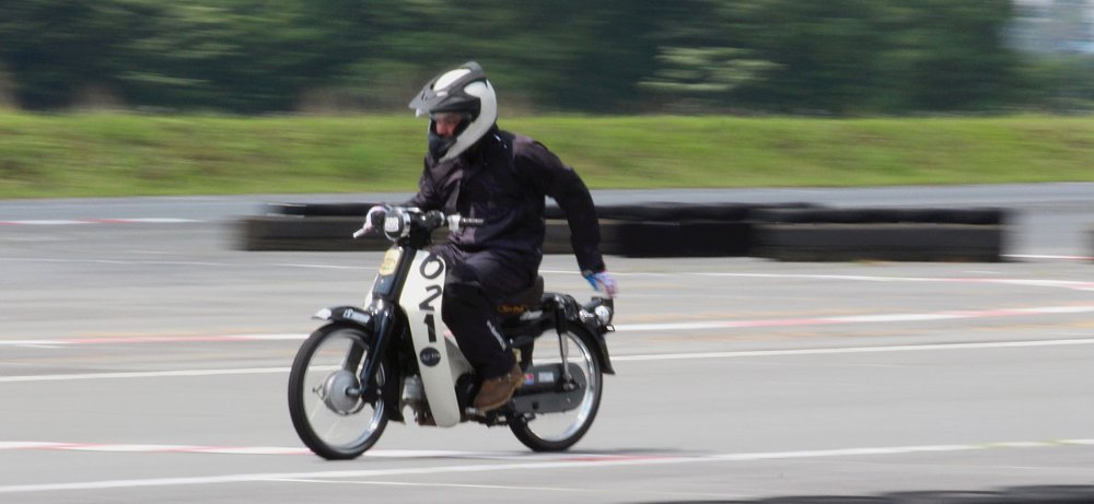 Justin racing