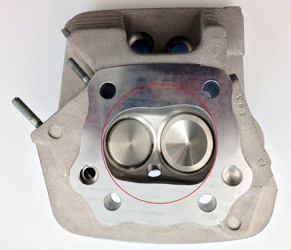 two-valve head