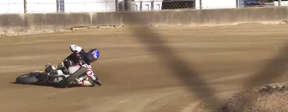 Video: Motorcycle drifting at its finest